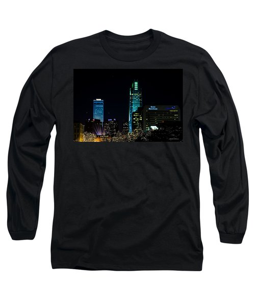Christmas Time In Omaha Long Sleeve T-Shirt