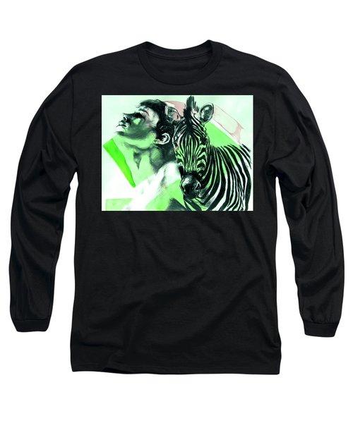 Chronickles Of Zebra Boy   Long Sleeve T-Shirt