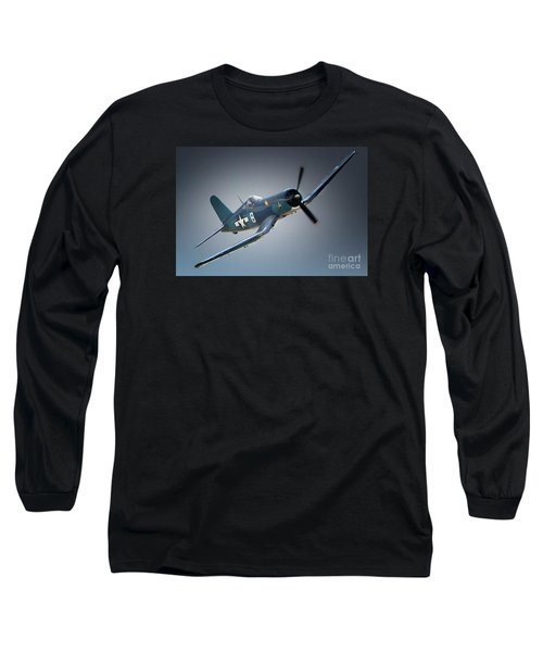 Chuck Wentworths F4u Corsair No.8 Long Sleeve T-Shirt