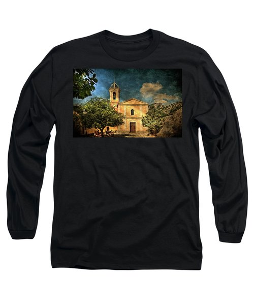 Church In Peillon Long Sleeve T-Shirt