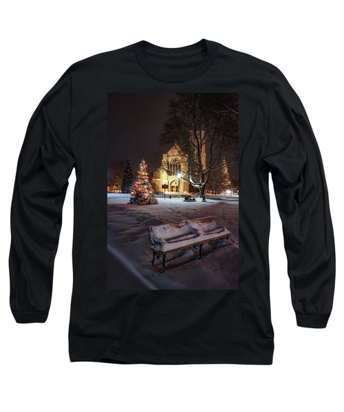 Church Of St Mary St Paul At Christmas Long Sleeve T-Shirt