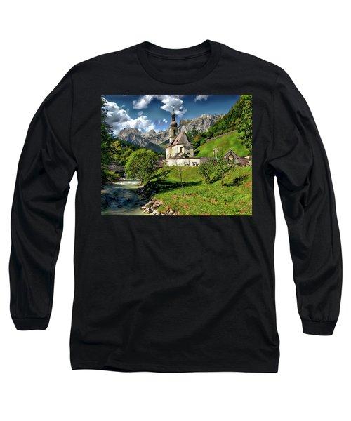 Church Of St. Sebastian Long Sleeve T-Shirt