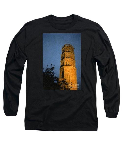 Long Sleeve T-Shirt featuring the photograph Church Steeple by Jean Bernard Roussilhe