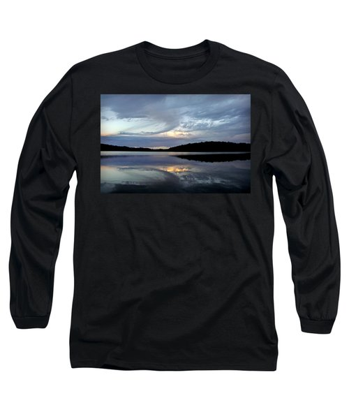 Long Sleeve T-Shirt featuring the photograph Churning Clouds At Sunrise by Chris Berry