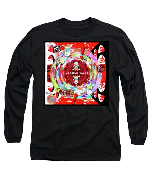 Circle Rage Long Sleeve T-Shirt