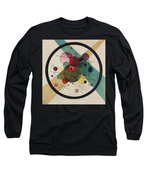 Circles In A Circle Long Sleeve T-Shirt