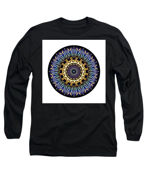 Circularium No 2641 Long Sleeve T-Shirt by Alan Bennington