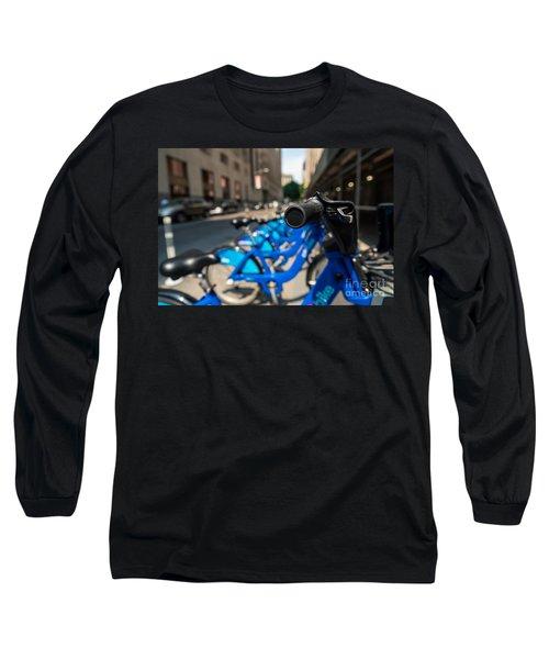Citibike Handle Manhattan Color Long Sleeve T-Shirt