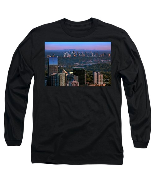 Cities Of Atlanta Long Sleeve T-Shirt