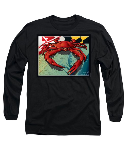 Citizen Crab Of Maryland Long Sleeve T-Shirt