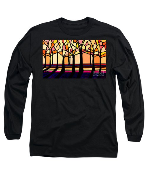 Citrus Glass Trees Long Sleeve T-Shirt