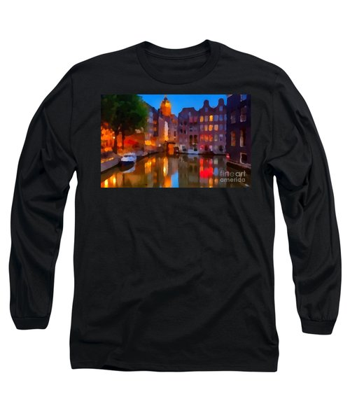 City Block 900 Soft And Dreamy In Thick Paint Long Sleeve T-Shirt