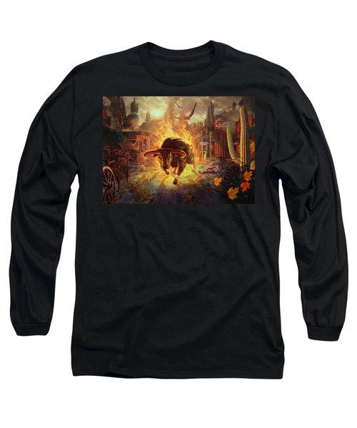 City Bull City Long Sleeve T-Shirt