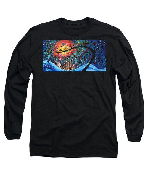 City By The Sea By Madart Long Sleeve T-Shirt