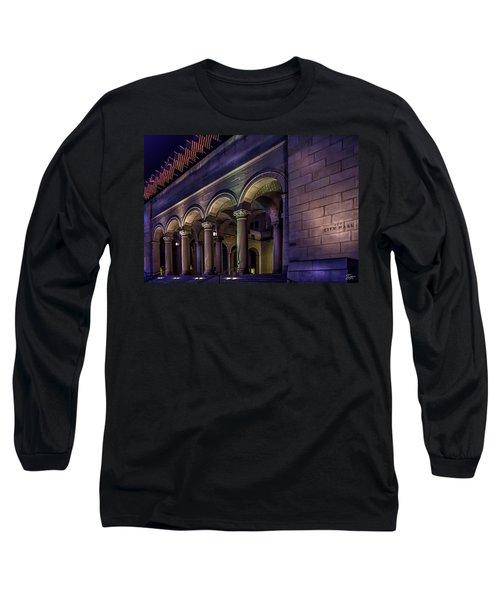 City Hall At Night Long Sleeve T-Shirt