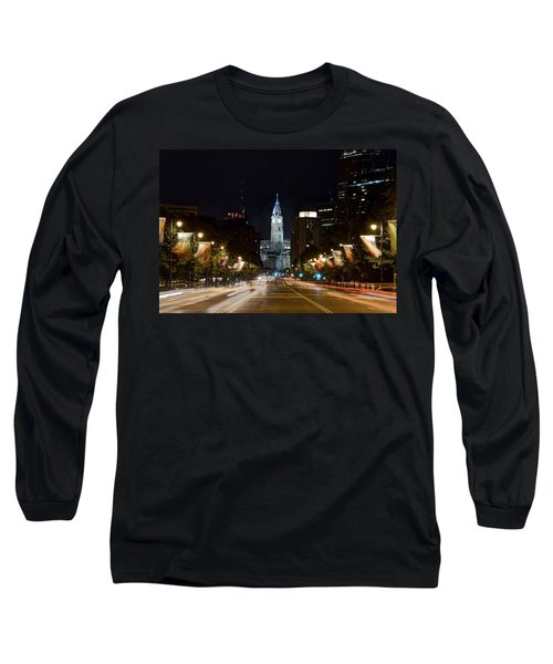 City Hall From The Parkway Long Sleeve T-Shirt