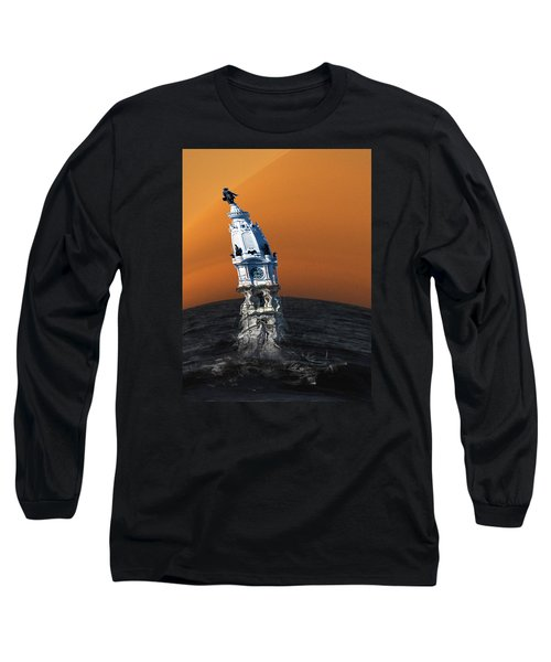 City Hall Melt Long Sleeve T-Shirt by Christopher Woods