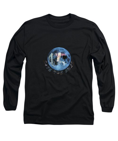 City Lights Long Sleeve T-Shirt by Valerie Anne Kelly