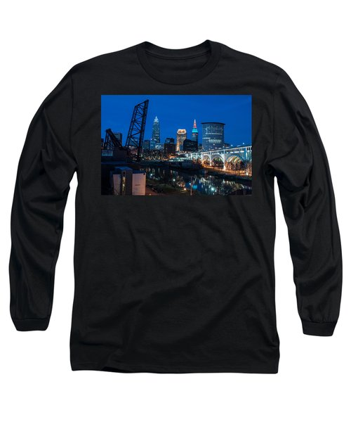 City Of Bridges Long Sleeve T-Shirt