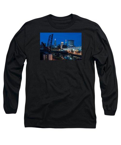 City Of Bridges Long Sleeve T-Shirt