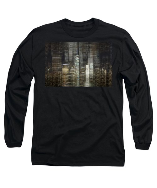 City Tetris Long Sleeve T-Shirt