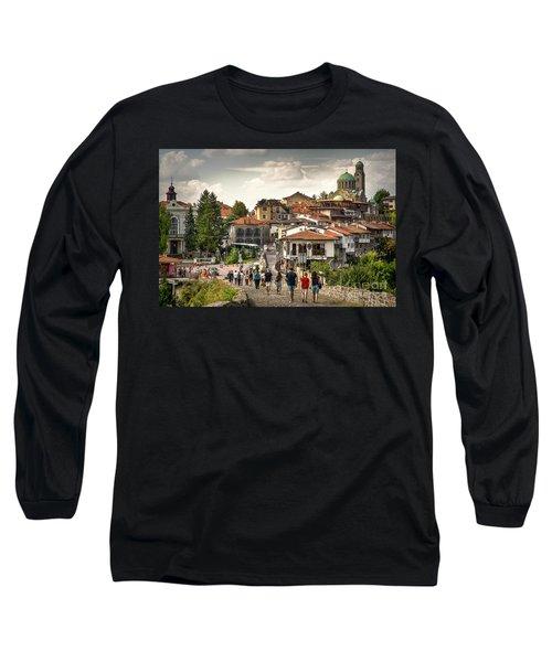City - Veliko Tarnovo Bulgaria Europe Long Sleeve T-Shirt