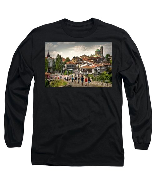 City - Veliko Tarnovo Bulgaria Europe Long Sleeve T-Shirt