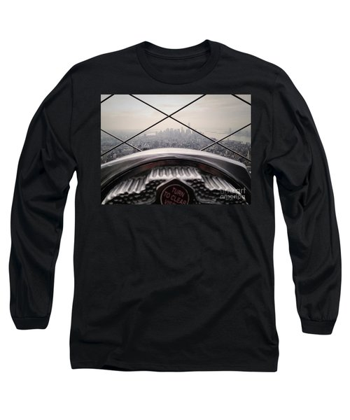 Long Sleeve T-Shirt featuring the photograph City View by MGL Meiklejohn Graphics Licensing