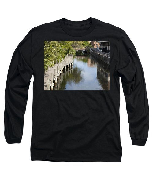 City Waterway Long Sleeve T-Shirt by Tara Lynn