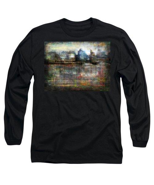 Long Sleeve T-Shirt featuring the photograph Cityscape #33. Silent Windows by Alfredo Gonzalez