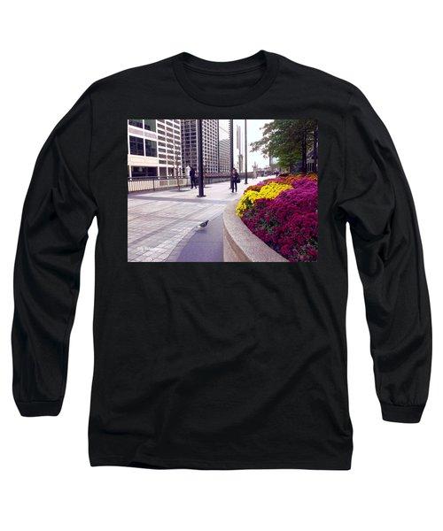 Civilization And Birds Long Sleeve T-Shirt