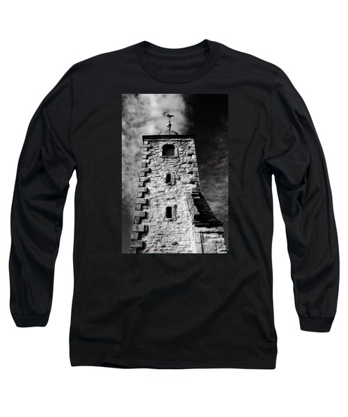Clackmannan Tollbooth Tower Long Sleeve T-Shirt by Jeremy Lavender Photography