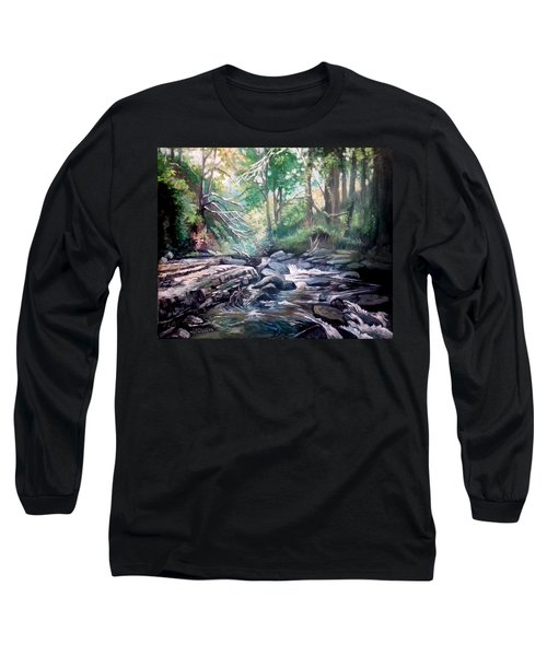 Clare Glens ,co Tipparay Ireland Long Sleeve T-Shirt by Paul Weerasekera