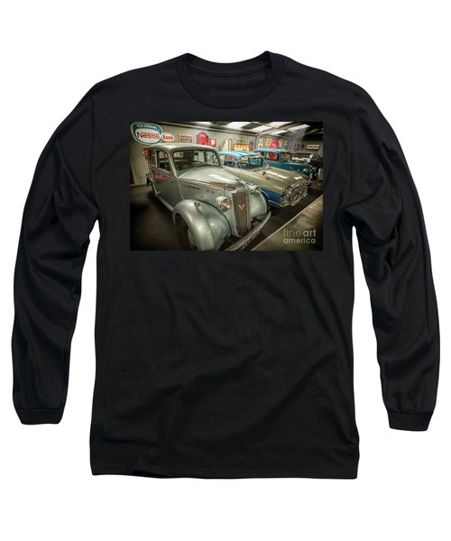 Long Sleeve T-Shirt featuring the photograph Classic Car Memorabilia by Adrian Evans