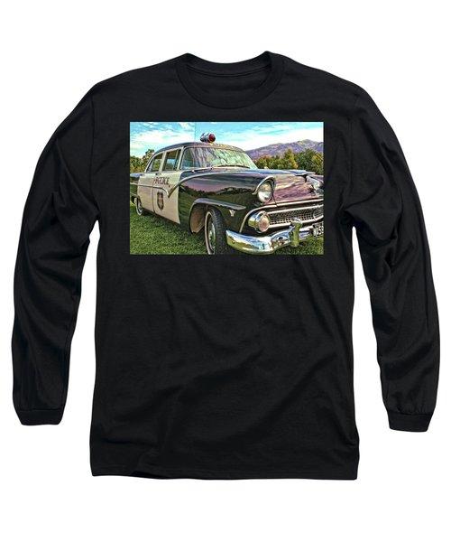 Classic Cop Car Long Sleeve T-Shirt