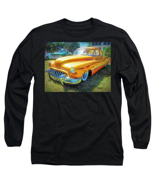 Classic Fifties Buick - Cruising The Coast Long Sleeve T-Shirt