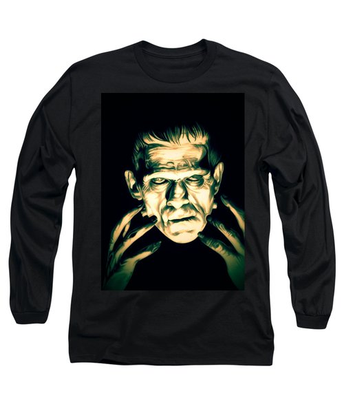 Classic Frankenstein Long Sleeve T-Shirt