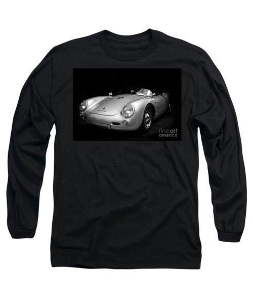Classic Porsche Long Sleeve T-Shirt by Perry Webster