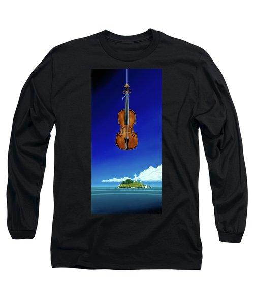Classical Seascape Long Sleeve T-Shirt