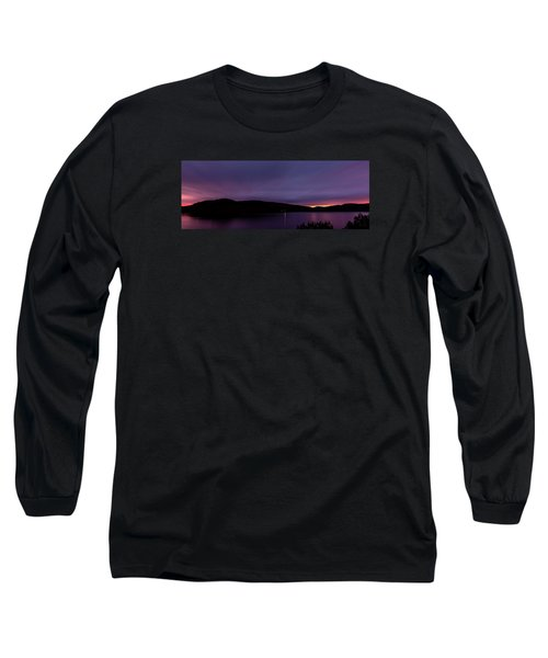 Clatteringshaws After Sunset. Long Sleeve T-Shirt