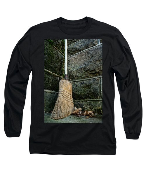 Clean Sweep Long Sleeve T-Shirt by Michael McGowan