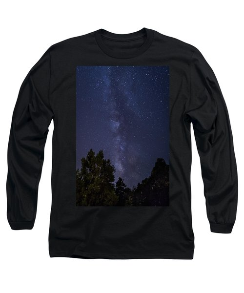Clear Night In Ruidoso Long Sleeve T-Shirt
