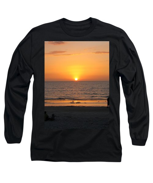 Clear Sunset Long Sleeve T-Shirt