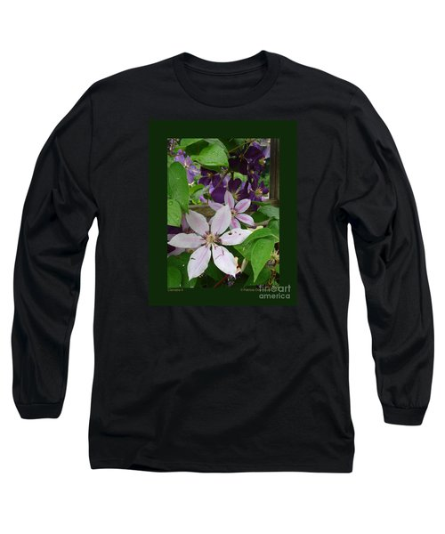 Clematis-ii Long Sleeve T-Shirt