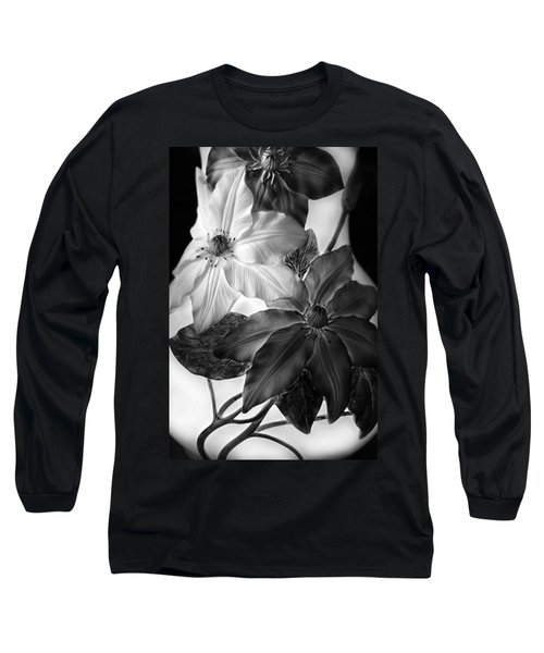 Clematis Overlay Long Sleeve T-Shirt
