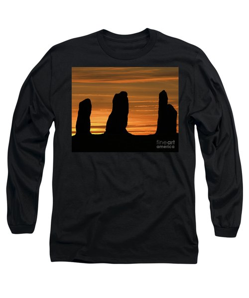 Clent Hills Sunset Long Sleeve T-Shirt