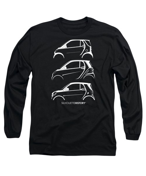 Clever Coupe Silhouettehistory Long Sleeve T-Shirt