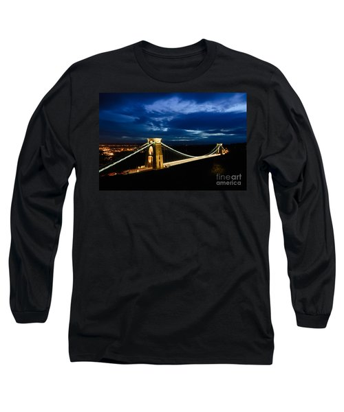 Clifton Suspension Bridge, Bristol. Long Sleeve T-Shirt by Colin Rayner