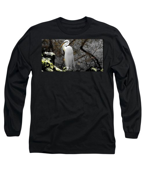 Cloaked Long Sleeve T-Shirt by Judy Wanamaker