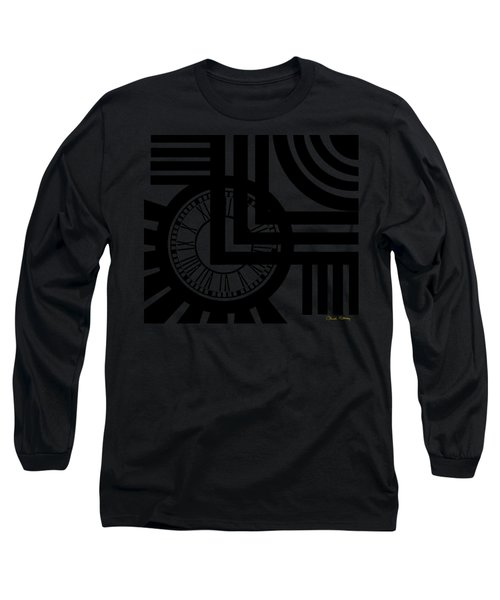 Clock Design Long Sleeve T-Shirt